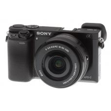 Sony Alpha A6000 Kit 16-50 mm F/3.5-5.6 E OSS PZ Black