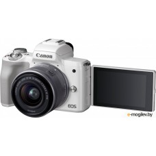 Canon EOS M50 Kit 15-45mm IS STM White