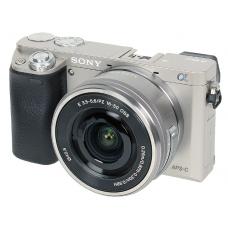 Sony Alpha A6000 Kit 16-50 mm F/3.5-5.6 E OSS PZ Silver