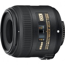 Объектив 40mm f/2.8G AF-S DX Micro NIKKOR
