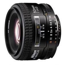 Объектив 50mm f/1.4D AF Nikkor
